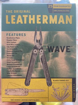 Brand New In Box Leatherman Wave for Sale in Spicewood, TX