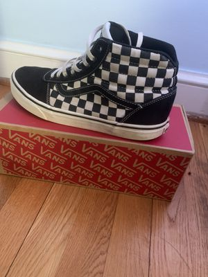 Vans Checked High Tops for Sale in Appomattox, VA