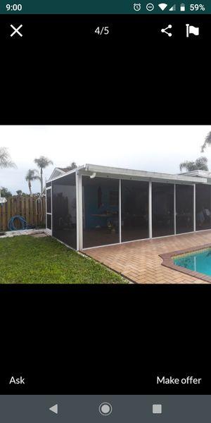 Pool screen patio screen for Sale in Miami, FL