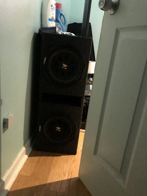 Kicker subwoofer for Sale in Annandale, VA