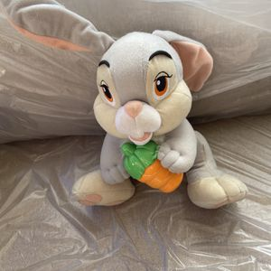 Disney Thumper Stuffed Animal With Carrot for Sale in Lake Elsinore, CA