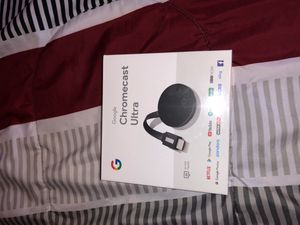 Google chromecast ultra for Sale in Perth Amboy, NJ