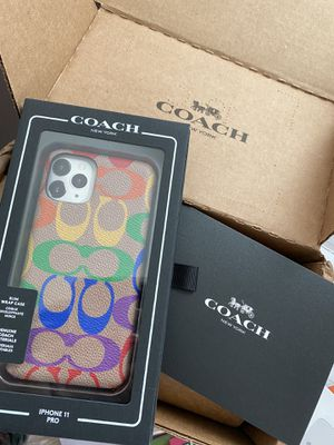 iPhone 11 Pro coach phone case for Sale in Saint Hedwig, TX