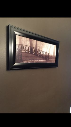 Bridge picture with frame 23 x 11 for Sale in Philadelphia, PA