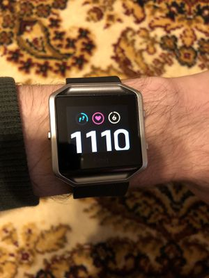 Fitbit blaze with charger for Sale in Raleigh, NC