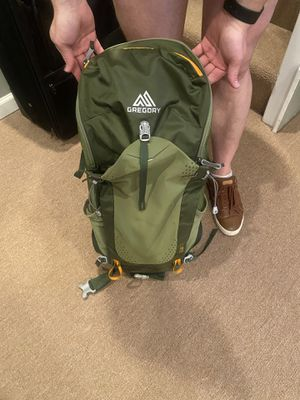 Gregory Hiking Backpack with Compatible Hydration Bladder for Sale in Chicago, IL