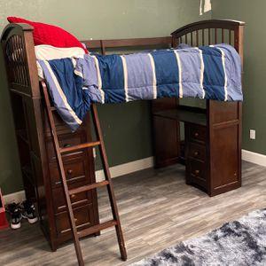 Bed/desk And Dresser Set for Sale in Visalia, CA