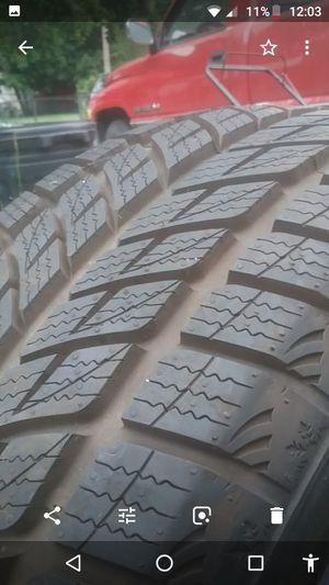 Horzon polorstar snow tires for Sale in Cadillac, MI