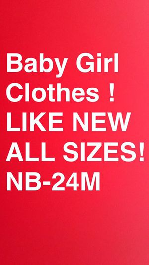 $1.00 a piece Baby Girl Clothes for Sale in San Diego, CA