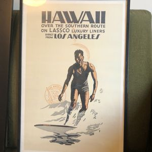 Hawaii Framed Poster for Sale in Los Angeles, CA