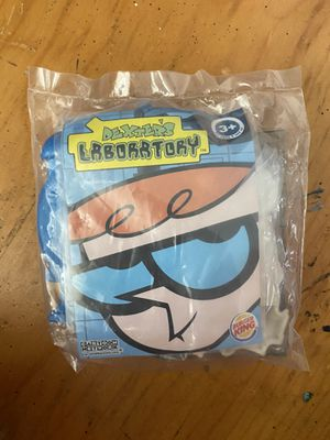 2003 Burger King Dexters Laboratory kids meal puzzle game for Sale in Long Beach, CA