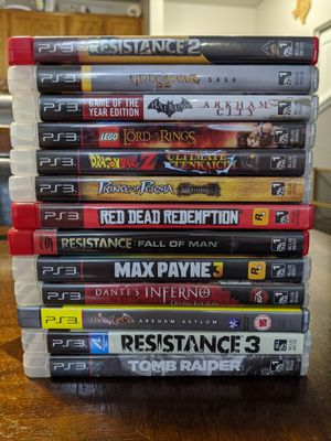 Ps3, plus 13 games. for Sale in Fairview, OR
