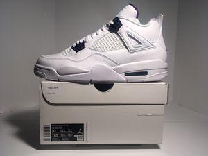 "Air Jordan 4 Retro""Purple Metallics"" size 10 for Sale in Anderson, SC"