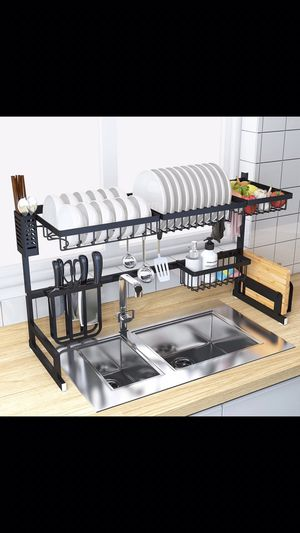 Dish Drying Rack - Over the Sink strainer Counter Storage Organizer for Sale in VLG WELLINGTN, FL
