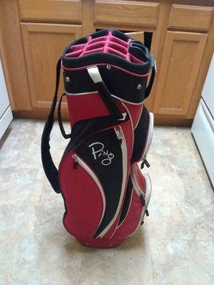 Golf Bag! Golf Clubs! Women's Ping 14 Slot Cart Bag! for Sale in Phoenix, AZ