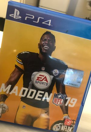 madden 19 (ps4) for Sale in Lawndale, CA