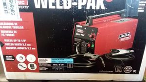 LINCOLN WELD -HD what with welding mask for Sale in Orlando, FL