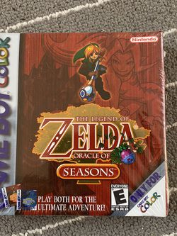 Zelda Oracle of Seasons factory sealed/brand new Gameboy Color for Sale in San Diego,  CA