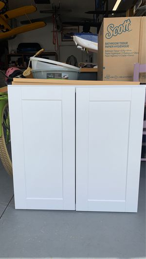 Wall cupboard new never used for Sale in Menifee, CA