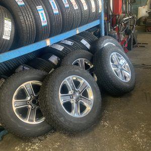 2020 Jepp Wrangler Wheels for Sale in Tampa, FL