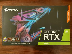 Gigabyte GeForce RTX 3070 AORUS Master (New-Sealed) for Sale in Lake Mary, FL