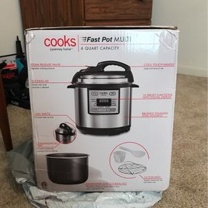 """Cooks"" 6qt Fast Pot MULTI for Sale in Oretech, OR"