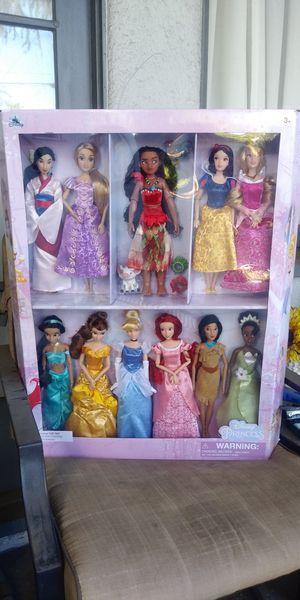Disney princess doll deluxe gift set for Sale in Pomona, CA