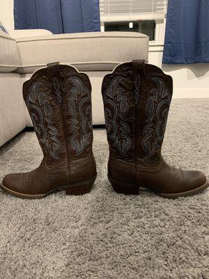 Justin Size 7.5B Cowboy Boots for Sale in Des Plaines, IL
