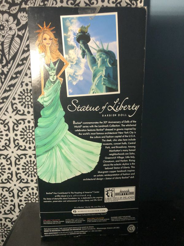 Statue of Liberty Barbie Collectable