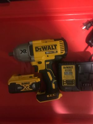 1/2 High torque impact wrench for Sale in Dublin, OH