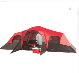 Large Tent Camping Outdoor Ozark Trail 3 Room 10 Person Waterproof for Sale in Phoenix, AZ