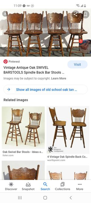 Nightstands and oak barstools!!! for Sale in Fresno, CA