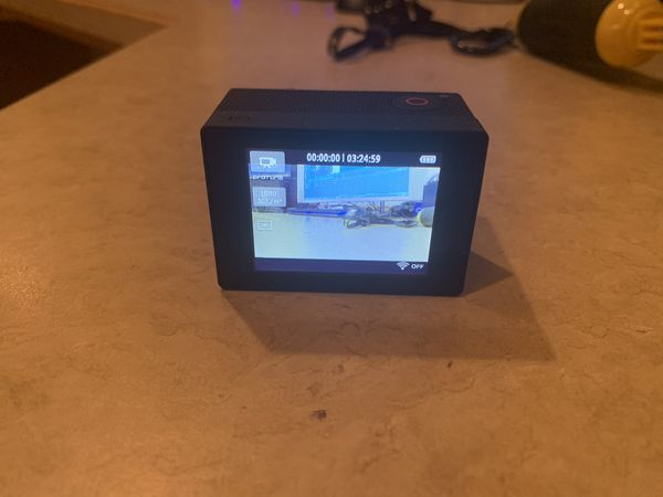 GoPro Hero3 with LCD Touch Bacpac