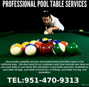 Pool table for Sale in Santa Ana, CA