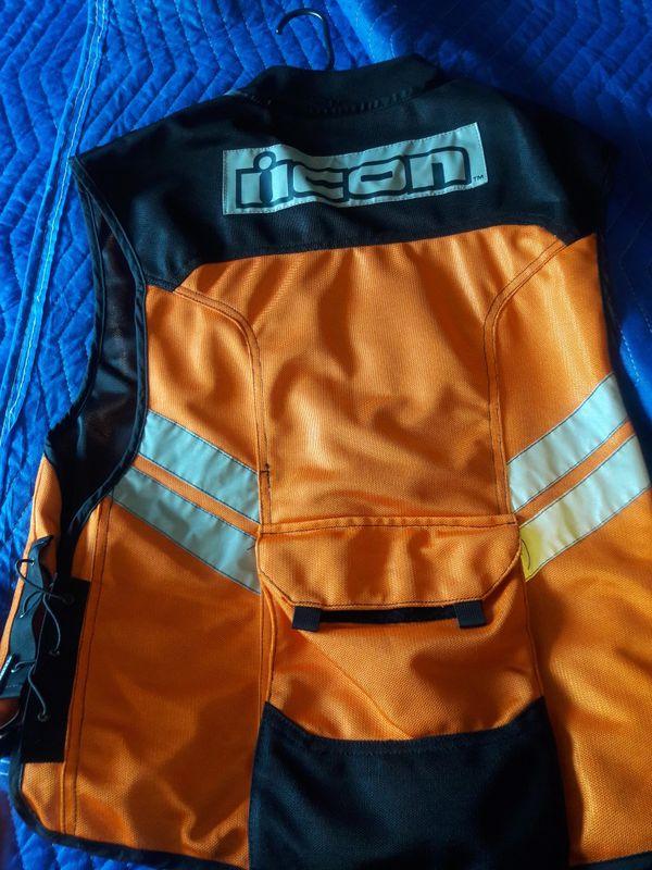 Motorcycle ICON reflector vest
