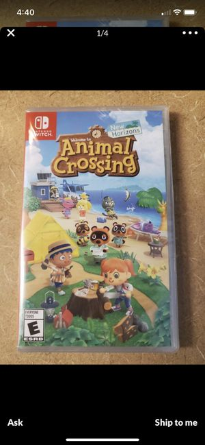 Animal crossing royal crowns and nook tickets for Sale in Goulds, FL