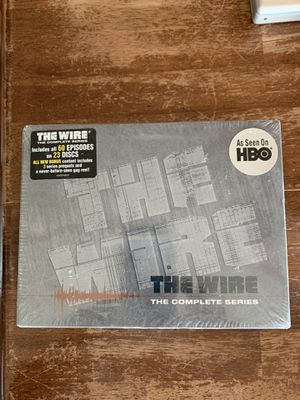 """""""The Wire"""" HBO DVD Box Set New/Sealed-The Complete Series for Sale in Chino, CA"""