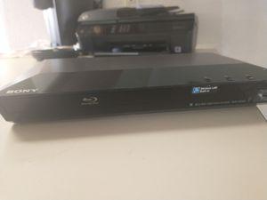 Sony Blu-ray Disc Player with Wi-Fi for Sale in Phoenix, AZ
