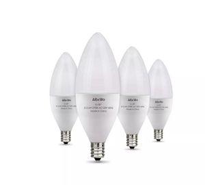 Albrillo E12 LED Bulb Candelabra Light Bulbs 6W 60 Watt Equivalent 4 Pack LL-LB7 for Sale in Los Angeles, CA