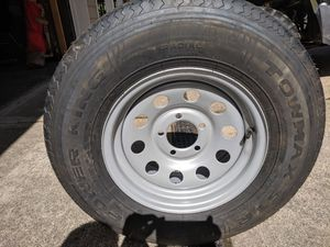 Trailer tire and rim for Sale in Washougal, WA