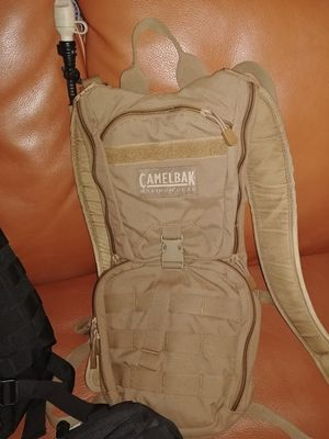 Military combat desert and Camelback for Sale in San Diego, CA