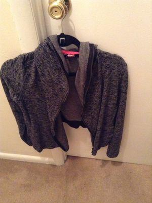 CP lounge half hoodie jacket (Blk/white) for Sale in Alexandria, VA