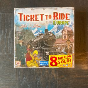 Ticket To Ride Europe for Sale in Arlington, VA