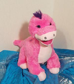 Build A Bear Pink Purple Spots Dinosaur Push Stuffed Animal Apatosaurus for Sale in Lockhart, TX