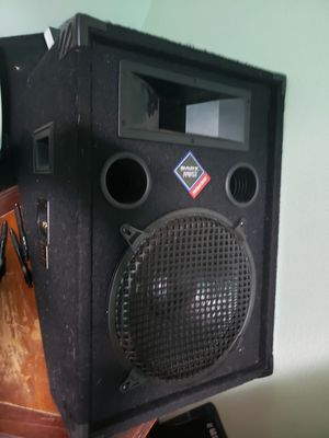Nady audio pro power series pfw12's for Sale in Oregon City, OR