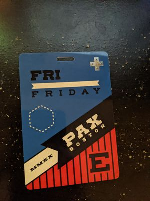 PAX East Friday Badge for Sale in Watertown, MA