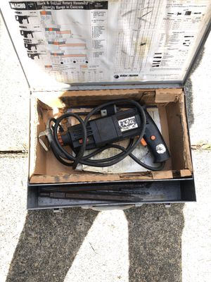 Rotary hammer with drills for Sale in Bonney Lake, WA