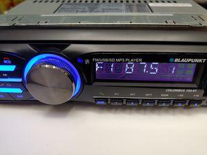 Car stereo : Blaupunkt FM Bluetooth media receiver aux usb port sd card slot remote control ( no cd player ) for Sale in Santa Ana, CA