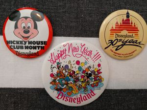Vintage Disney Badges/Pin Buttons for Sale in New Port Richey, FL