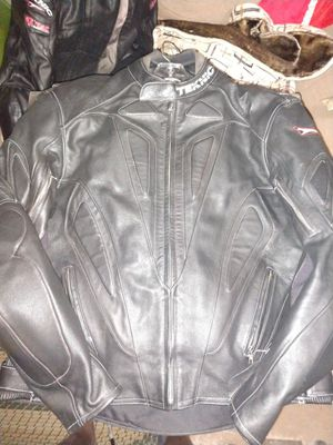 Teknic xl leather motorcycle Jacket for Sale in Baltimore, MD